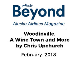 Alaska Airlines Magazine Woodinville Chris Upchurch