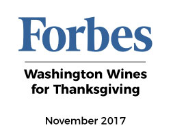 Forbes Washington Wines DeLille