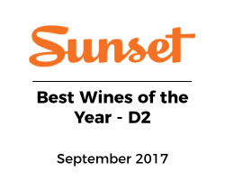 Sunset Magazine Wine of Year D2 DeLille
