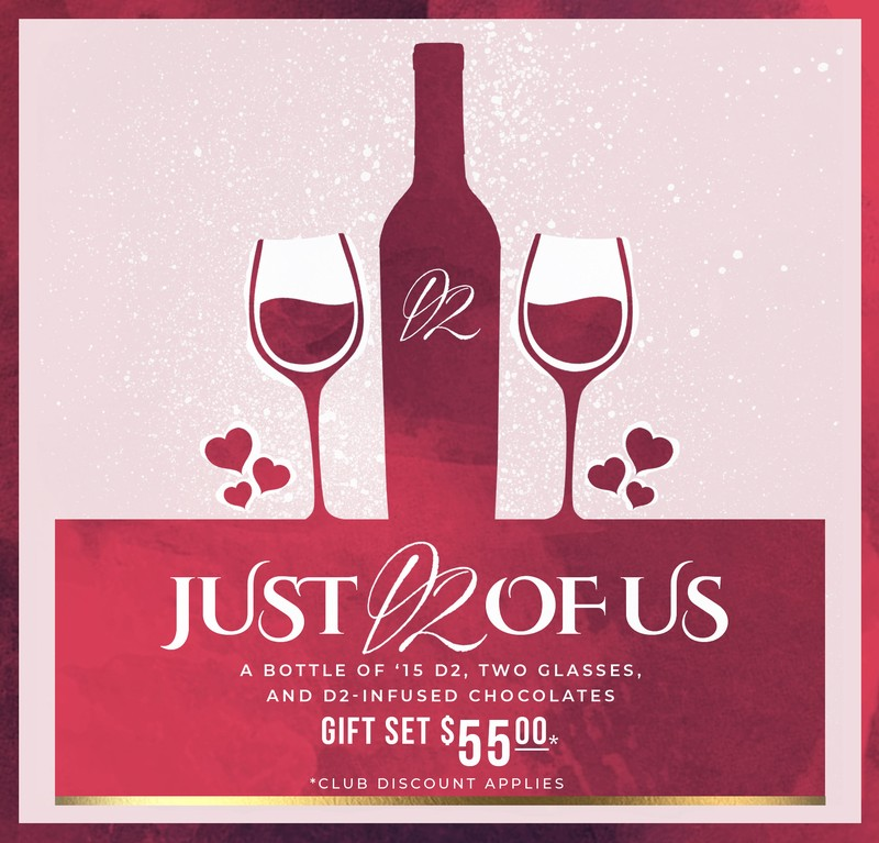 Perfect Valentine's gifts to give or share! #justD2ofus