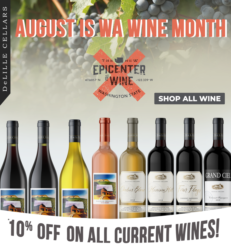 DeLille Cellars Wine Month Offers and Deals