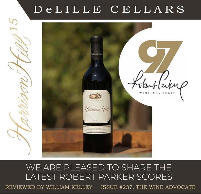 97 Points for Harrison Hill! Our New Robert Parker Scores are Out!