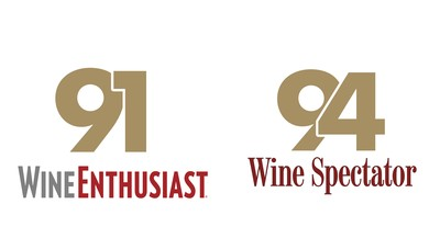 91 Points Wine Enthusiast, 94 Points Wine Spectator