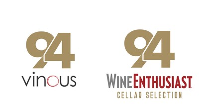 94 points Vinous, 94 points Wine Enthusiast Cellar Selection
