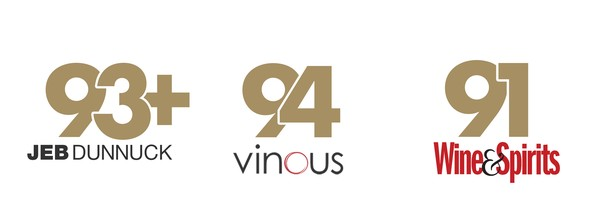 93+ Points Jeb Dunnuck, 94 Points Vinous, 91 Points Wine & Spirits