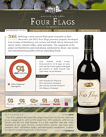 DeLille Cellars Four Flags Cabernet Red Mountain Washington