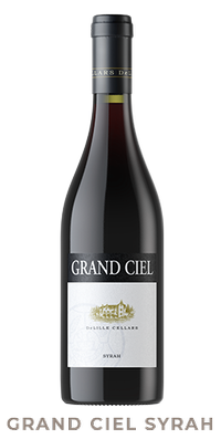 Grand Ciel Syrah Sell Sheet and Wine Information