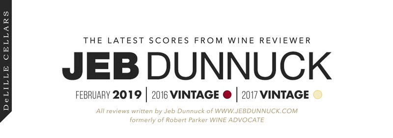 DeLille Cellars scores from Jeb Dunnuck! 90 point wines from Washington State