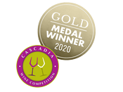 2020 Cascadia Wine Competition Gold Medal Winner