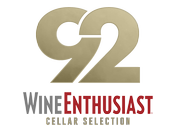 92 Points Wine Enthusiast Cellar Selection