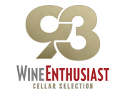 93 Points Wine Enthusiast Cellar Selection