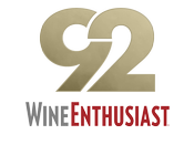 92 Points Wine Enthusiast