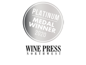 Wine Press Northwest Platinum Medal Winner 2020