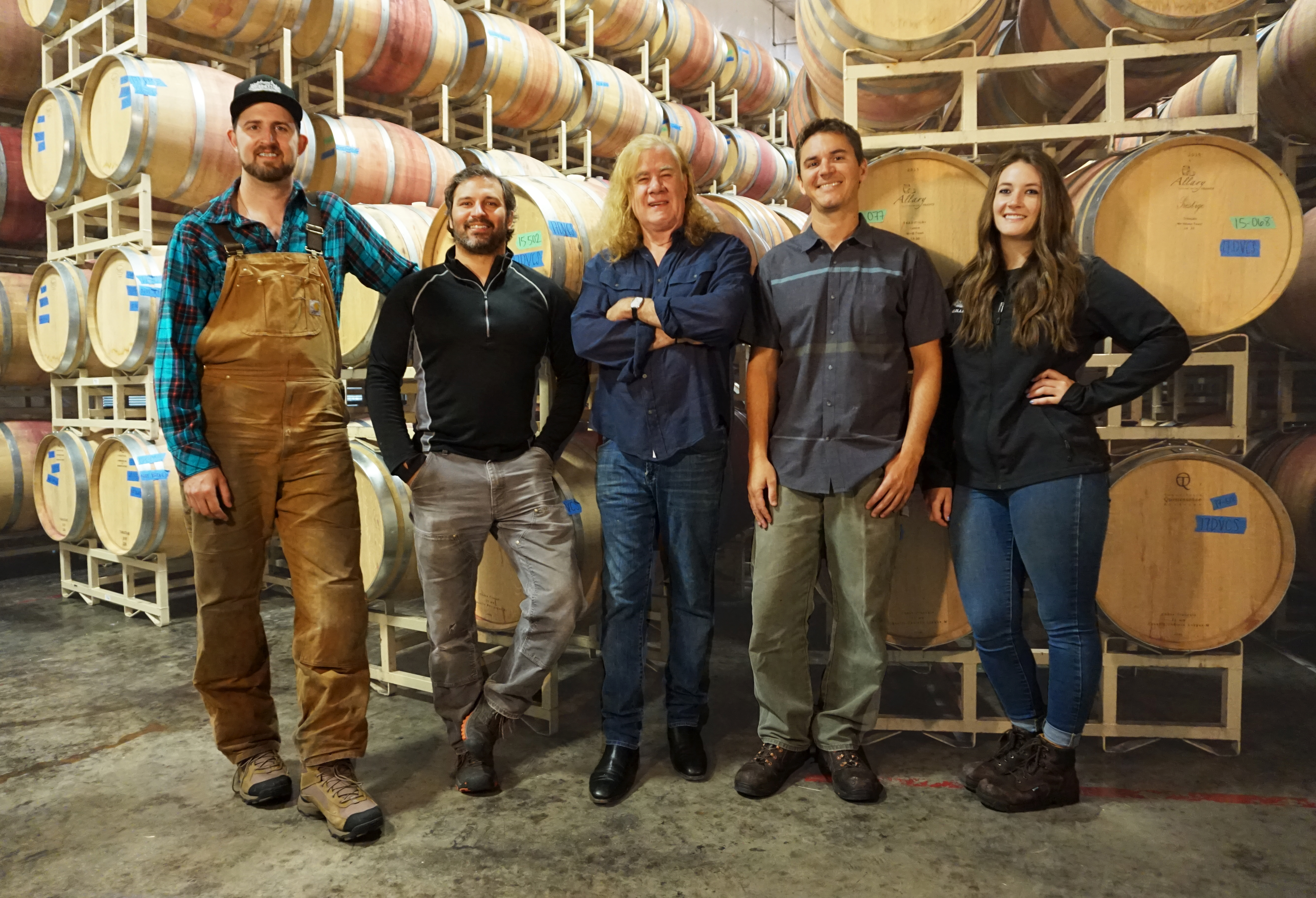 DeLille Cellars Winemaking Team Photo