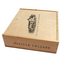 BOX 6BTL WOOD