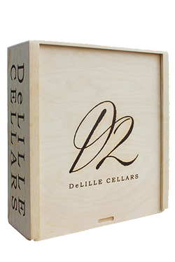 D2 Wood Box - 3 Bottle