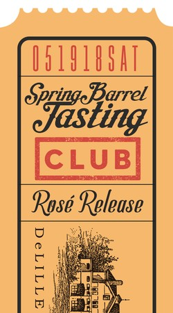 Spring Barrel Saturday Club Only Ticket