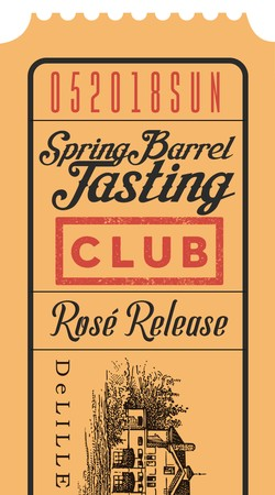 Spring Barrel Sunday Club Only Ticket Image