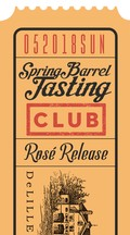 Spring Barrel Sunday Club Only Ticket